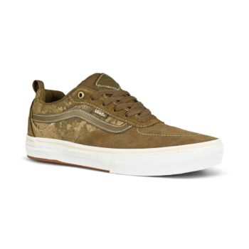 Vans Kyle Walker Pro Skate Shoes - Platoon Green / White