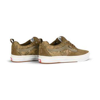 Vans Kyle Walker Pro Skate Shoes - Platoon Green / White