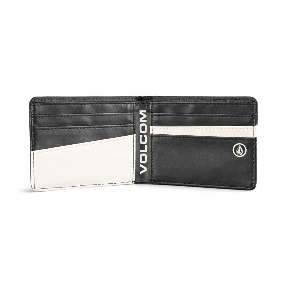 Volcom Corps Bi-Fold PU Leather Wallet - Black