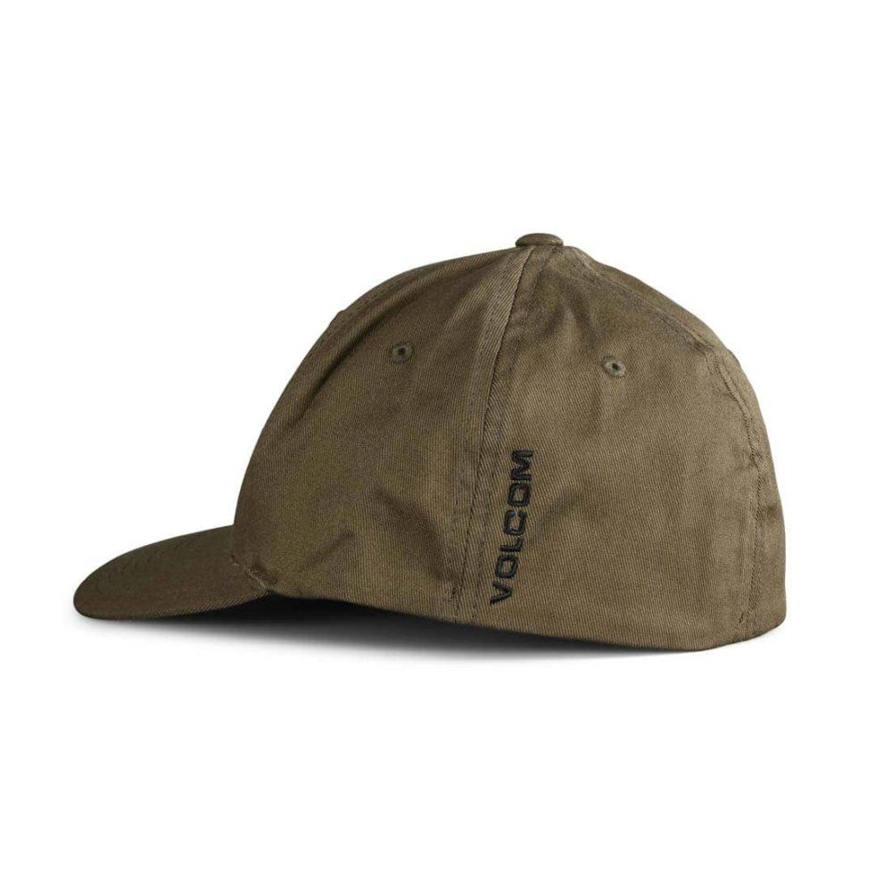 Volcom Full Stone XFit Flexfit Cap - Covert Green