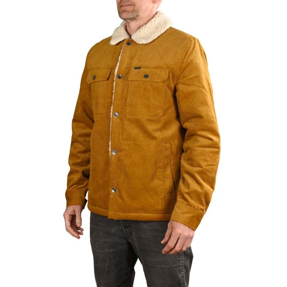 Volcom Keaton Sherpa Lined Jacket - Golden Brown