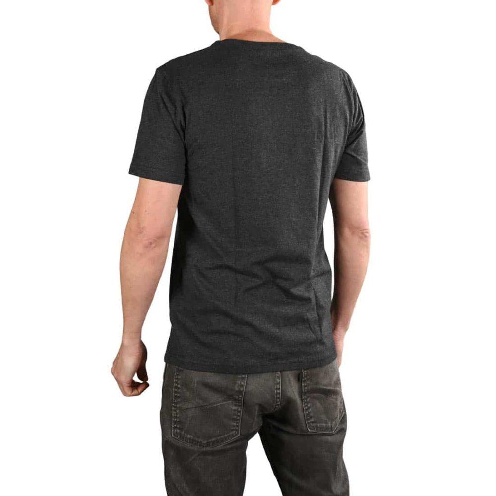 Volcom Vortex Sphere BSC S/S T-Shirt - Heather Black