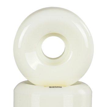 Wayward Casper Brooker 53mm Funnel Cut Skateboard Wheels - White