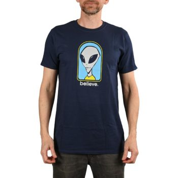 Alien Workshop Believe S/S T-Shirt - Navy