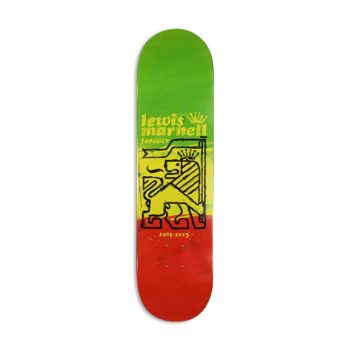 "Almost Lewis Marnell Painted Lion R7 8"" Skateboard Deck"