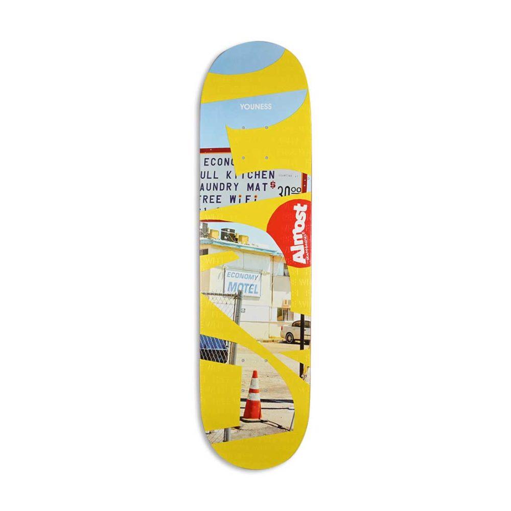Almost Youness Amrani Fleabag R7 Skateboard Deck