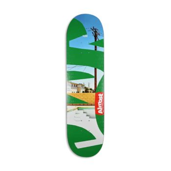 Almost Yuri Facchini Fleabag R7 Skateboard Deck