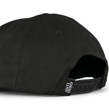 Anti Hero Basic Pigeon Snapback Cap - Black / White