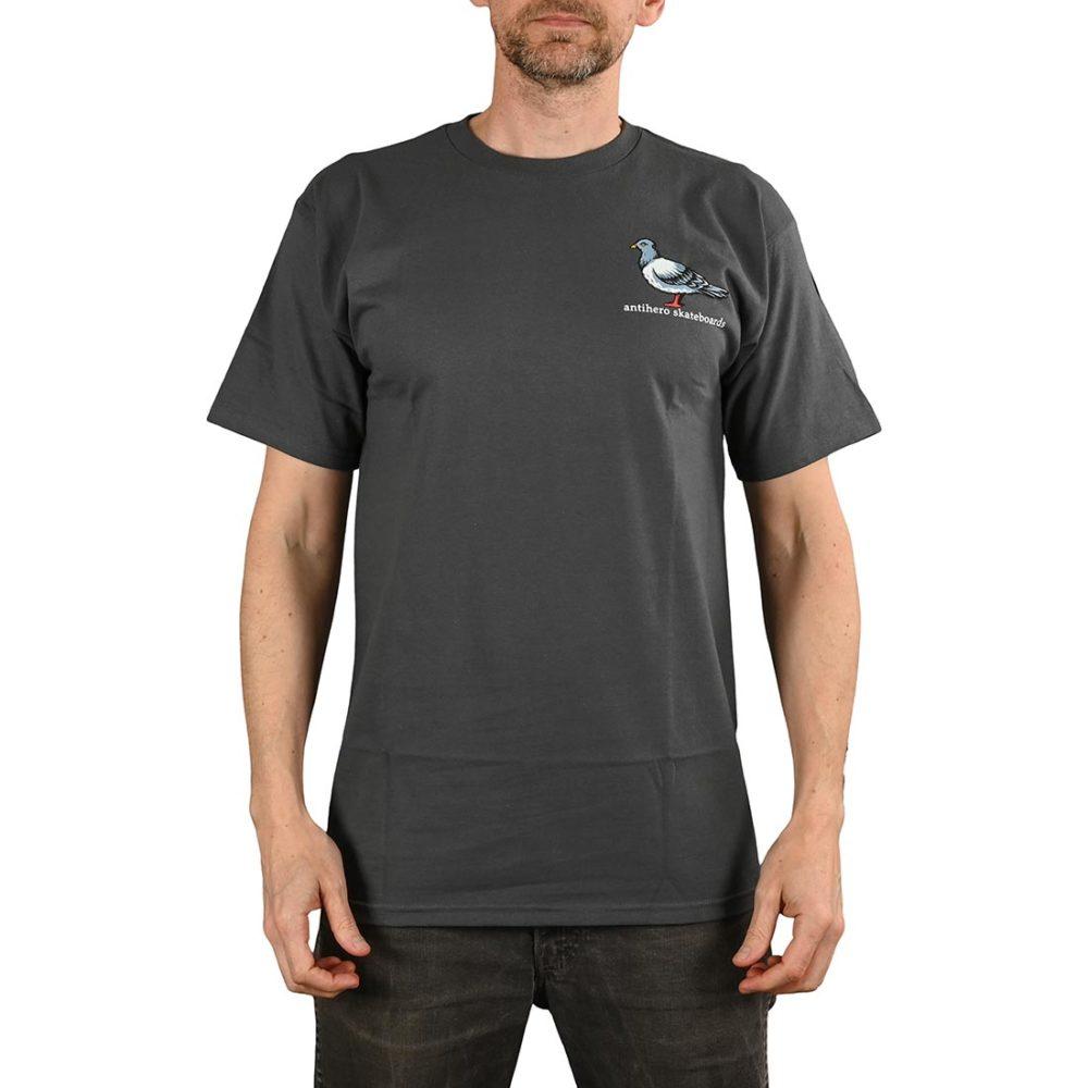 Anti Hero Lil Pigeon S/S T-Shirt - Charcoal / Multicolour