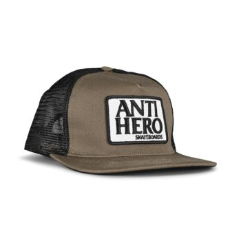Anti Hero Reserve Patch Snapback Cap - Brown / Black