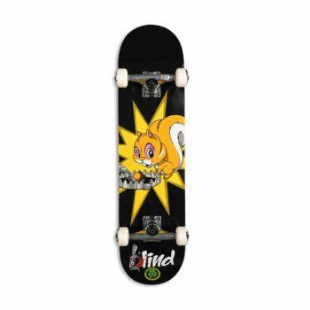 """Blind Fur Muncher FP 7.875"""" Complete Skateboard - Black"""