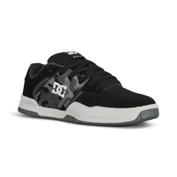 DC Central Skate Shoes - Grey / Black / Grey