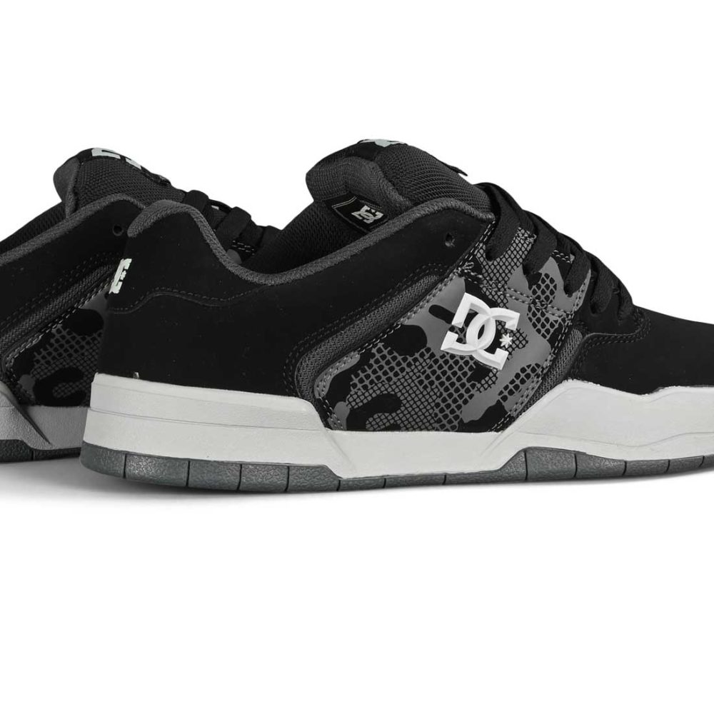 DC Central Skate Shoes - Grey / Black / Grey