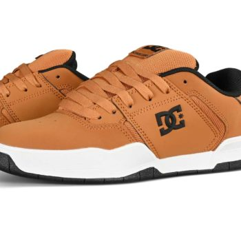 DC Central Skate Shoes - Wheat Nubuck