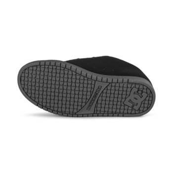 DC Court Graffik Skate Shoes - Black / Dark Slate