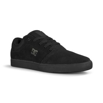 DC Crisis Skate Shoes - Black / Black