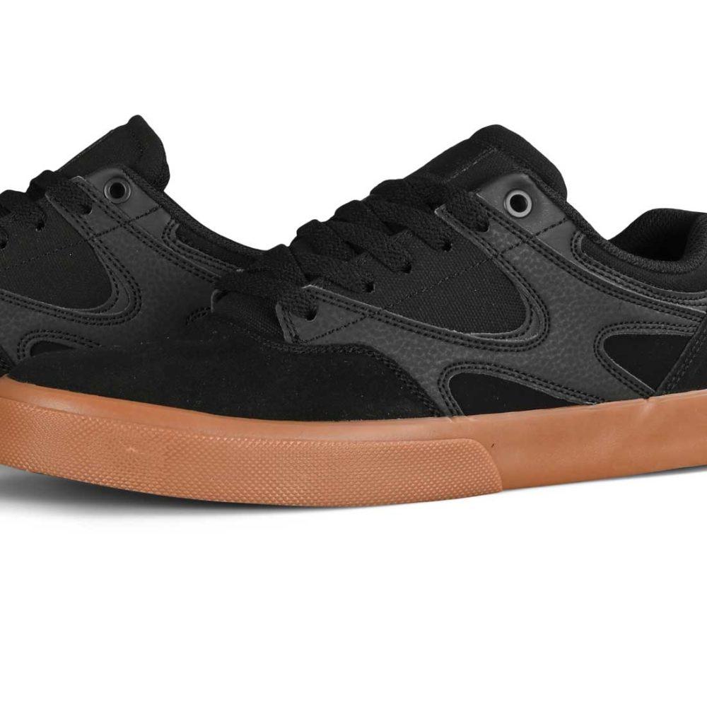 DC Kalis Vulc Skate Shoes - Black / Black / Gum