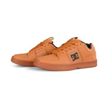 DC Lynx Zero Skate Shoes - Brown / Wheat