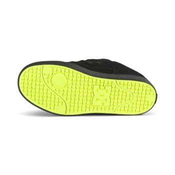 DC Pure Skate Shoes - Black / Yellow