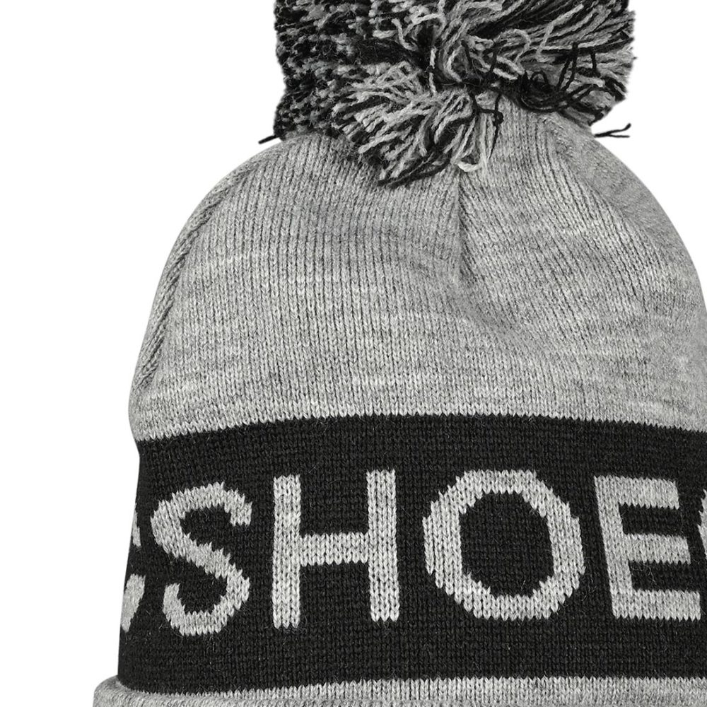DC Shoes Chester Pom Beanie - Frost Grey