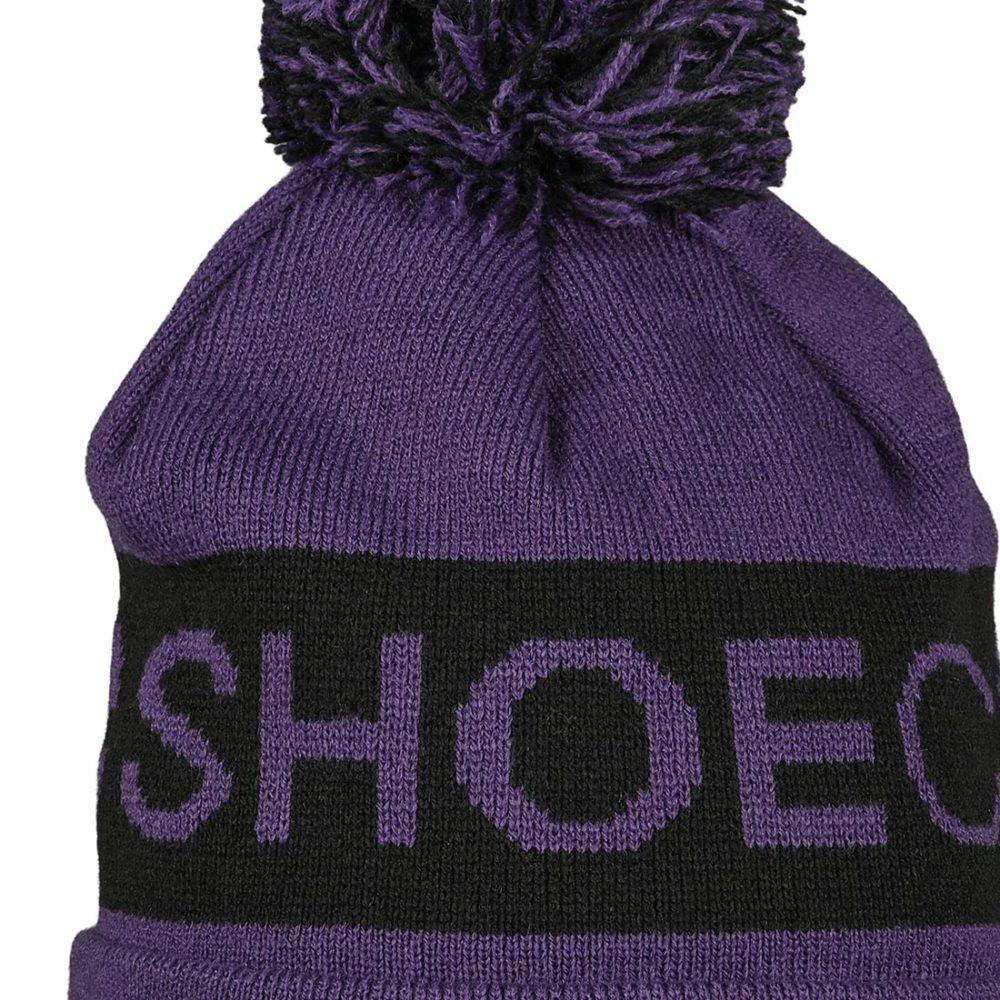 DC Shoes Chester Pom Beanie - Grape