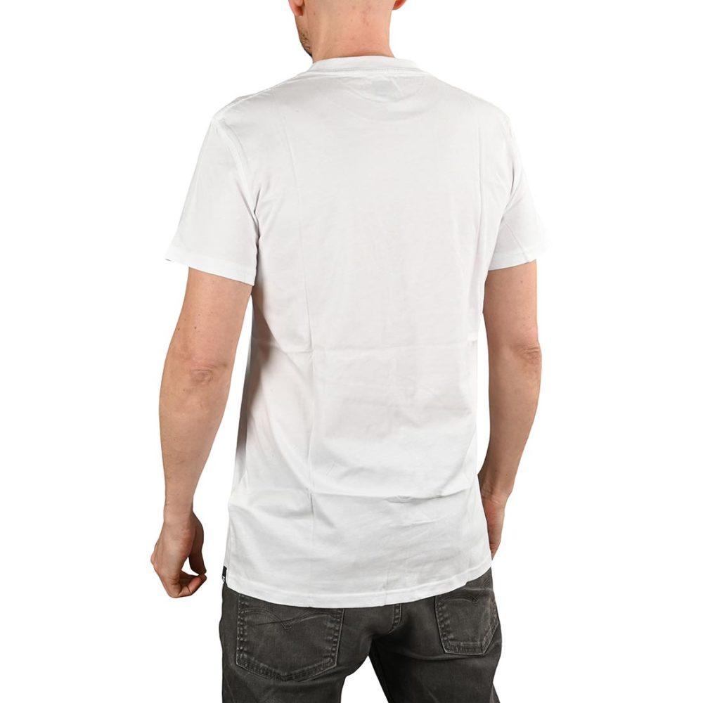 DC Shoes Circle Star S/S T-Shirt - Snow White / Nautical Blue