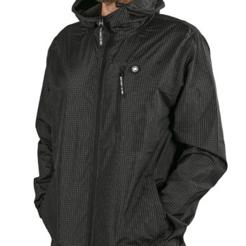 DC Shoes Dagup Ripstop Windbreaker Jacket - Black