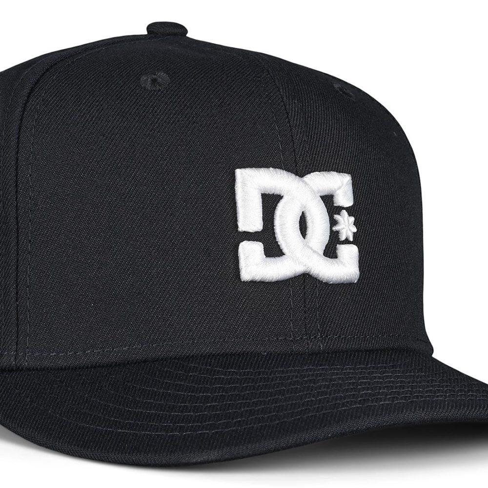 DC Shoes Empire Fielder Snapback Cap - Black Iris