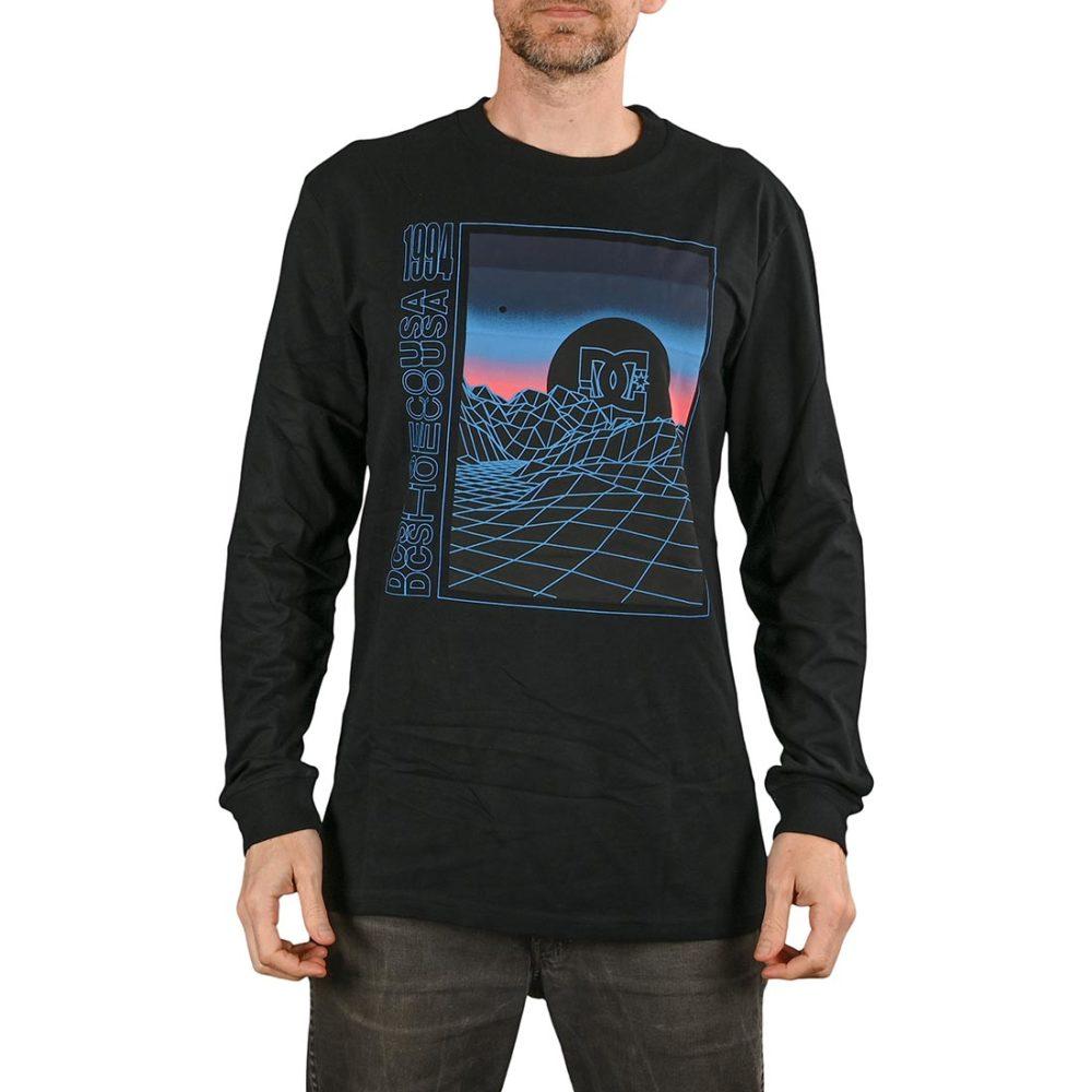 DC Shoes Gridlock L/S T-Shirt - Black