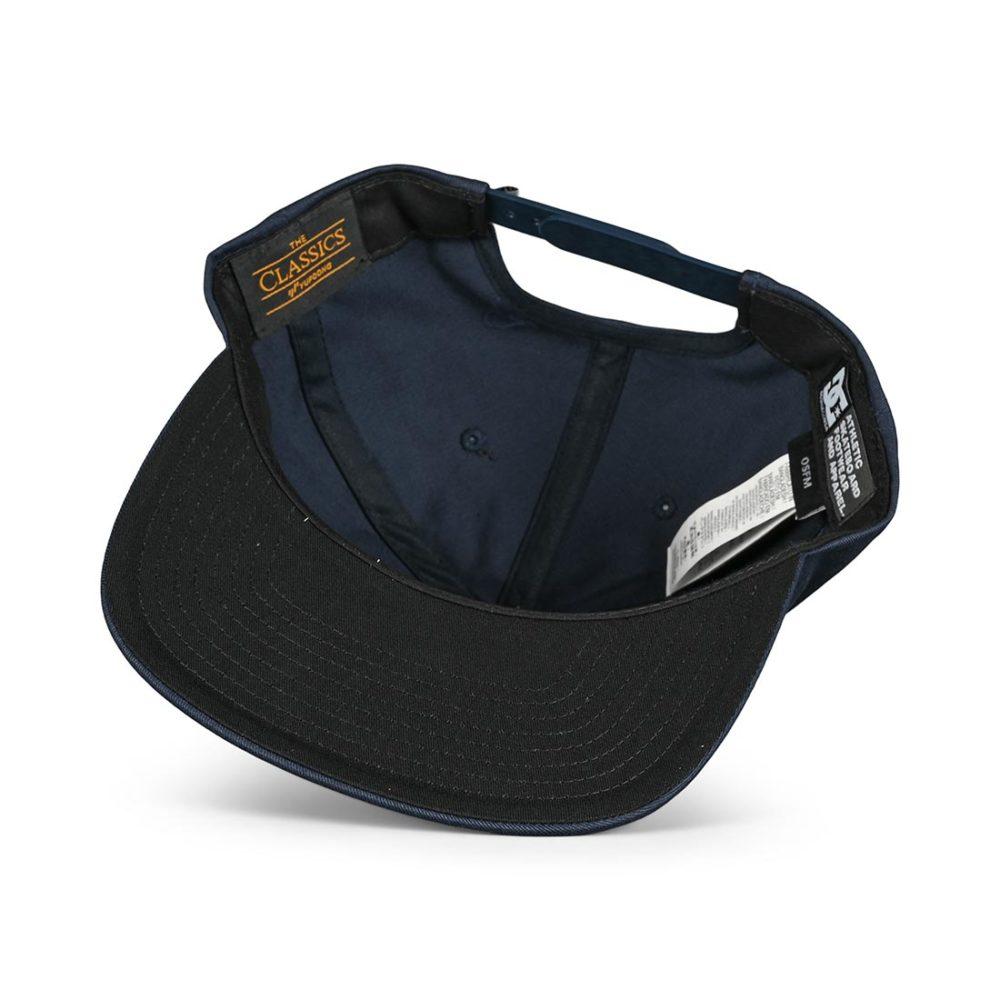 DC Shoes Snapdripp Snapback Cap - Black Iris