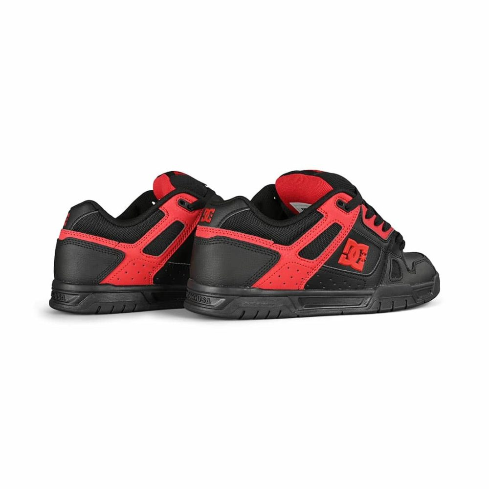 DC Shoes Stag - Black / Red / Black
