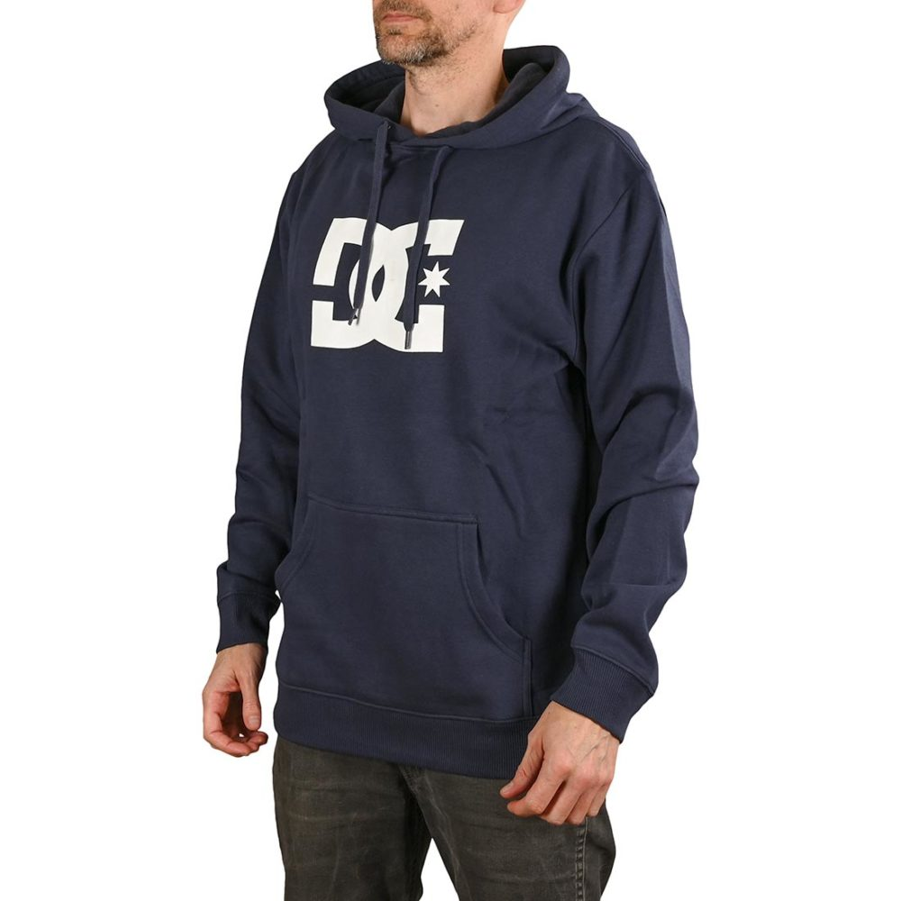 DC Shoes Star Pullover Hoodie - Black Iris