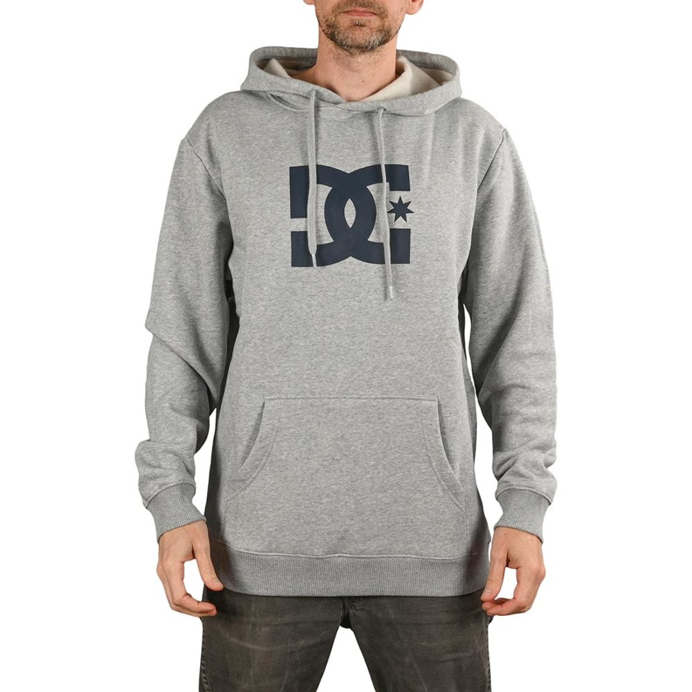 DC Shoes Star Pullover Hoodie - Heather Grey
