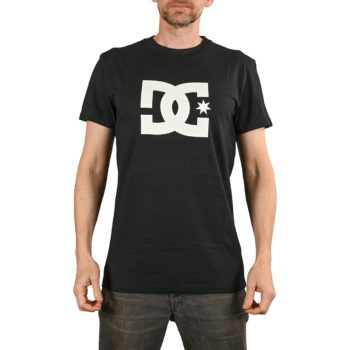DC Shoes Star S/S T-Shirt - Black / Snow White