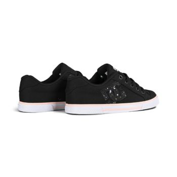 DC Shoes Women's Chelsea - Black / Splatter