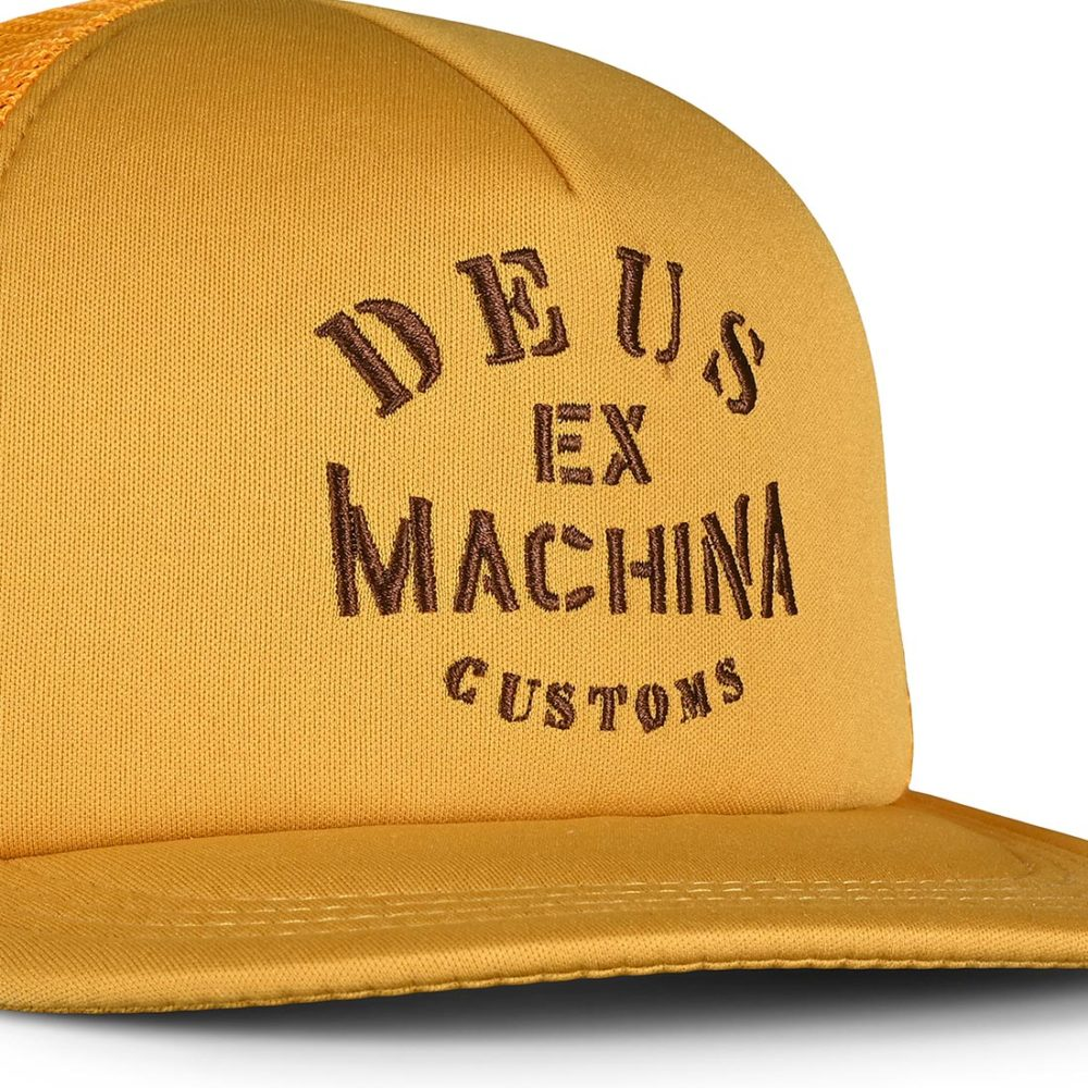 Deus Ex Machina Crew Trucker Cap - Gold