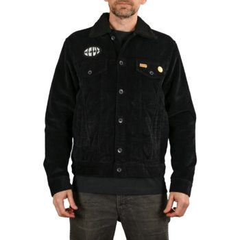 Deus Ex Machina Mikey Oversized Trucker Jacket - Phantom Black