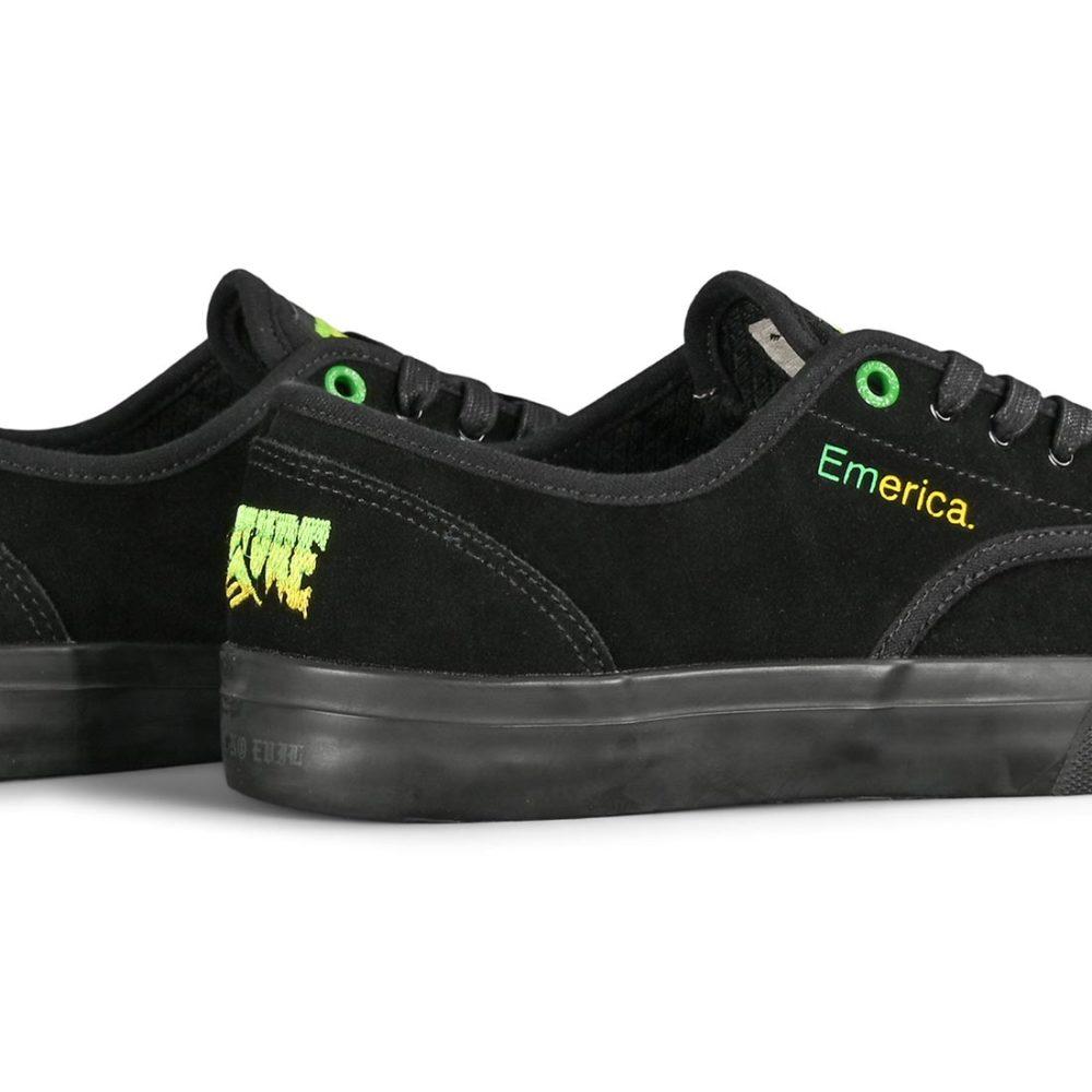 Emerica x Creature Skateboards Wino Standard Skate Shoes - Black