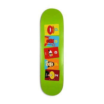 "Enjoi Didrik ""Deedz"" Galasso Flashcards R7 8.125"" Skateboard Deck"