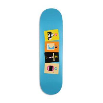 "Enjoi Enzo Cautela Flashcards R7 8"" Skateboard Deck"