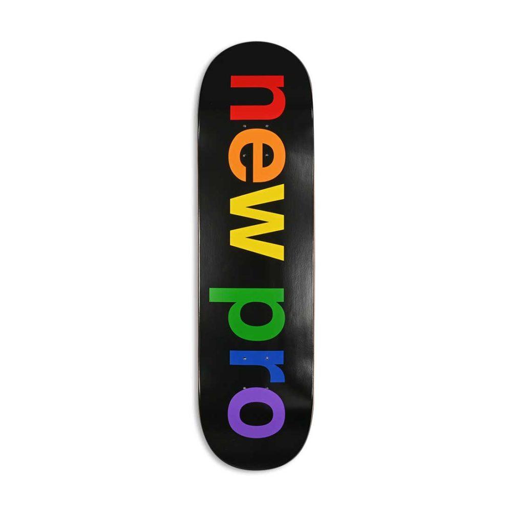 "Enjoi New Pro HYB 8.5"" Skateboard Deck - Black"