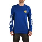 Etnies Icon L/S T-Shirt - Royal Blue