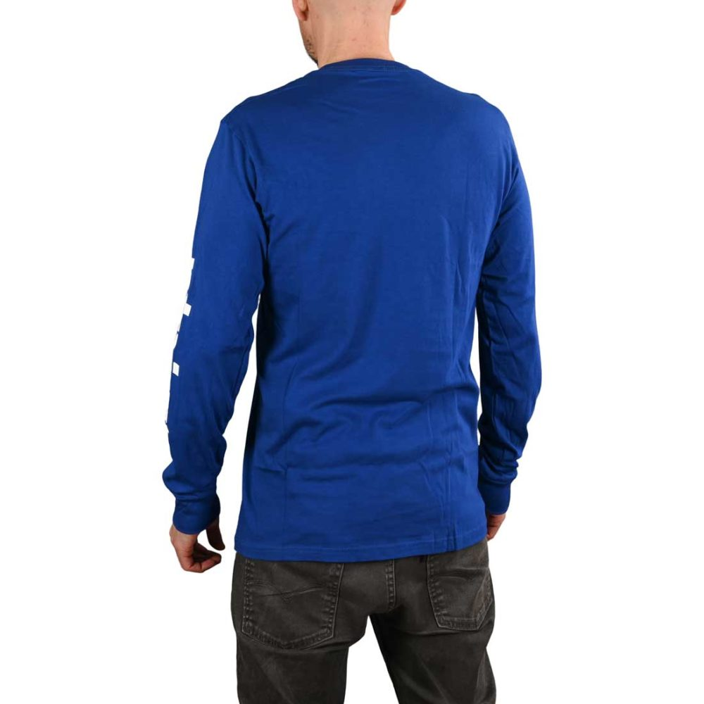 Etnies Icon L/S T-Shirt - Royal Blue