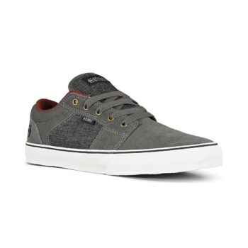 Etnies Barge LS Skate Shoes - Grey / Black / Gold