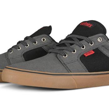 Etnies Barge Preserve Skate Shoes - Grey / Black / Gum