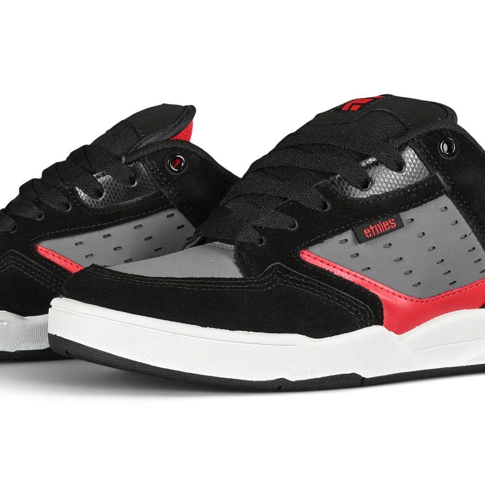Etnies Cartel Skate Shoes - Black / Grey