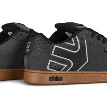 Etnies Fader Skate Shoes - Grey / Gum