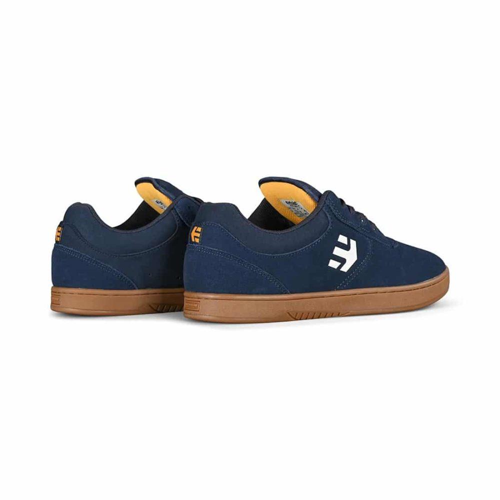 Etnies Joslin Skate Shoes - Navy / Gum / Yellow