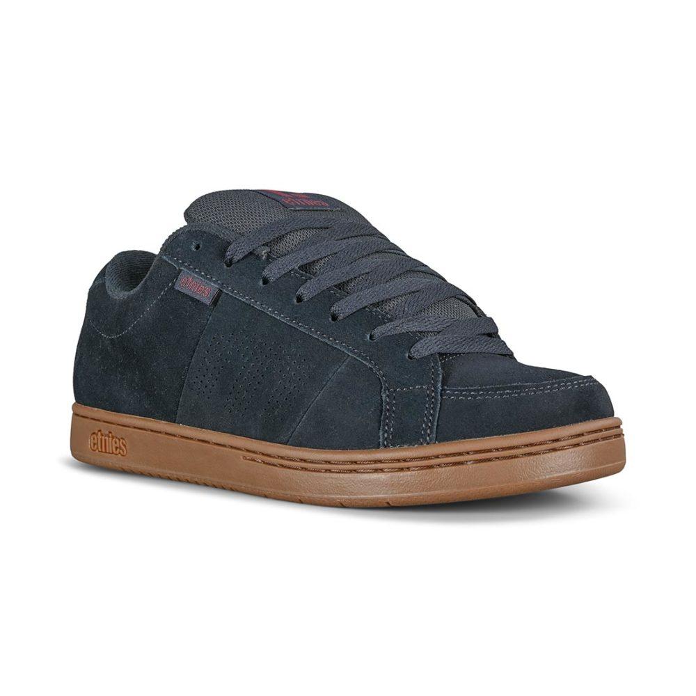 Etnies Kingpin Skate Shoes - Navy / Red / Gum