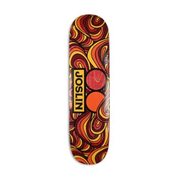 "Plan B Chris Joslin Haight St 8.25"" Pro Skateboard Deck"